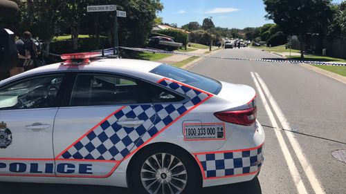 Police found the shooting victim with an injured eye in Upper Coomera. (9NEWS)