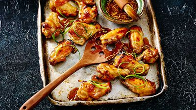 "<a href=""http://kitchen.nine.com.au/2017/04/18/15/47/sticky-asian-chicken-wings"" target=""_top"">Sticky Asian chicken wings</a>"