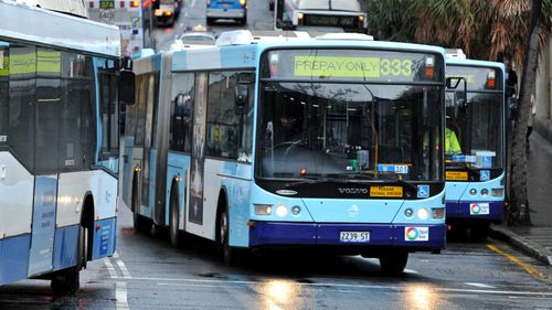 A schoolgirl was allegedly assaulted on a Sydney bus.