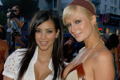 Paris Hilton and Kim Kardashian were once pals at school, back before Kim became mega-famous... who's the totally hot one now, eh?