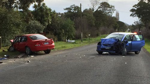One dead, another injured in collision south-east of Melbourne