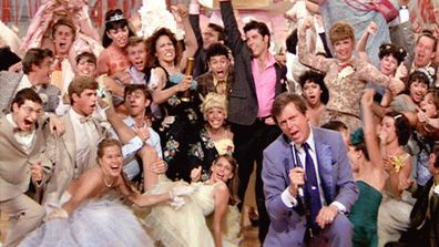 Cast of Grease.