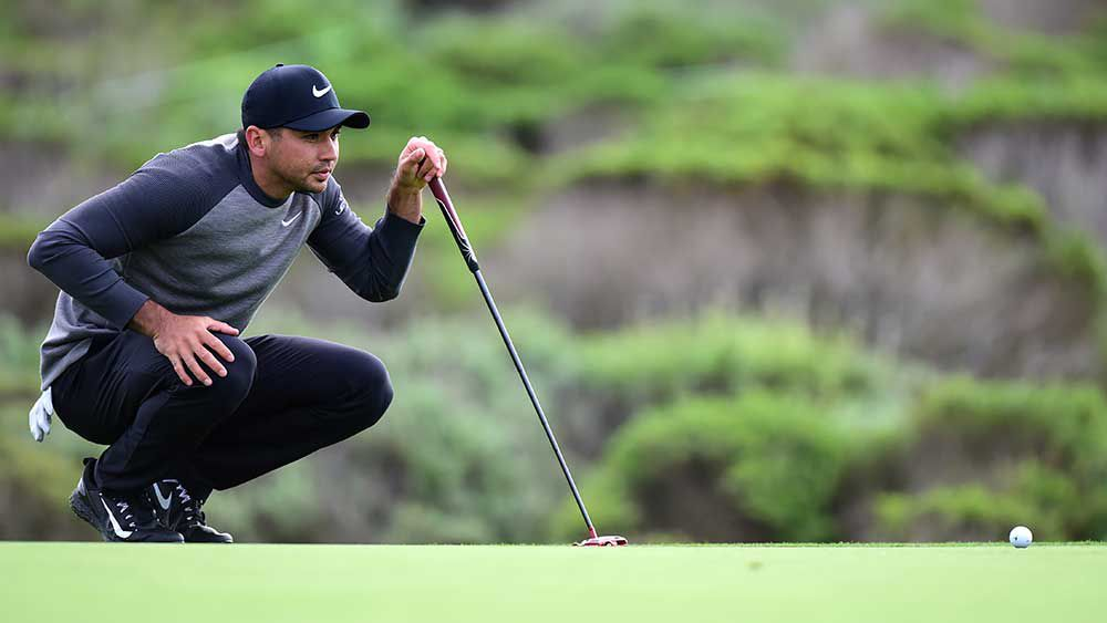 Jason Day in mix at storm-hit Pebble Beach