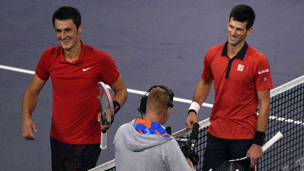 Tomic declares Novak Djokovic unbeatable