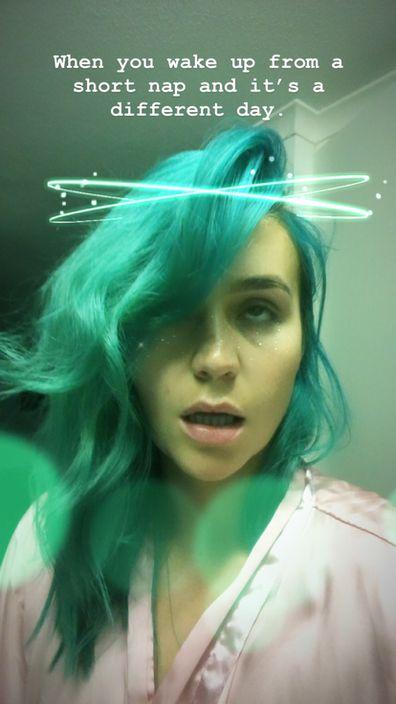 Amy Sheppard's latest selfie