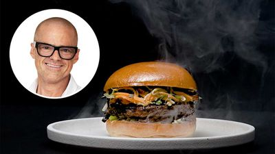 Heston Blumenthal launches famous plant-based burger at Grill'd