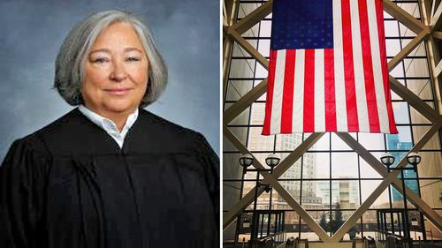 Judge Kathryn L. Quaintance and the Minneapolis court in which she will give her decision.