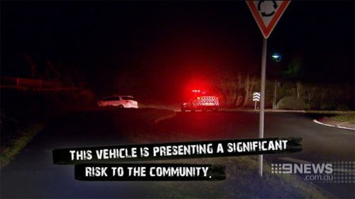 The two officers have been stood down pending a review. (9NEWS)