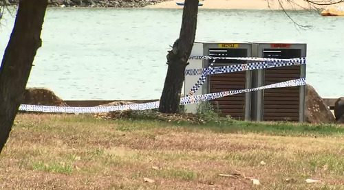 A man has been charged with murder after a body was found in a sleeping bag at a Tweed Heads park.