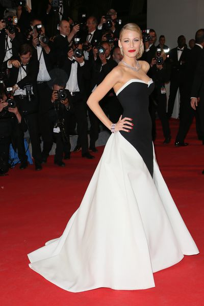Blake Lively wearing Gucci at the<em>The Captive</em> Premiere at the 67th Annual Cannes Film Festival in May, 2014