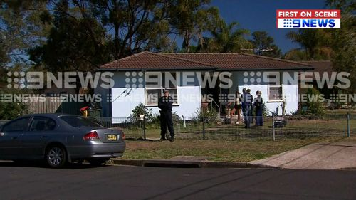 Police arrested three men during raids of homes at Marsden Park and Mt Druitt this morning,