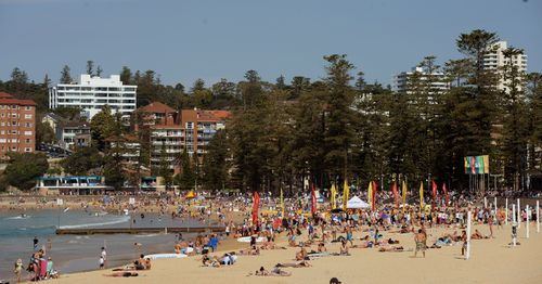 Popular with tourists, Manly Beach came n at number 16 on the top 25 ranking. (AAP)