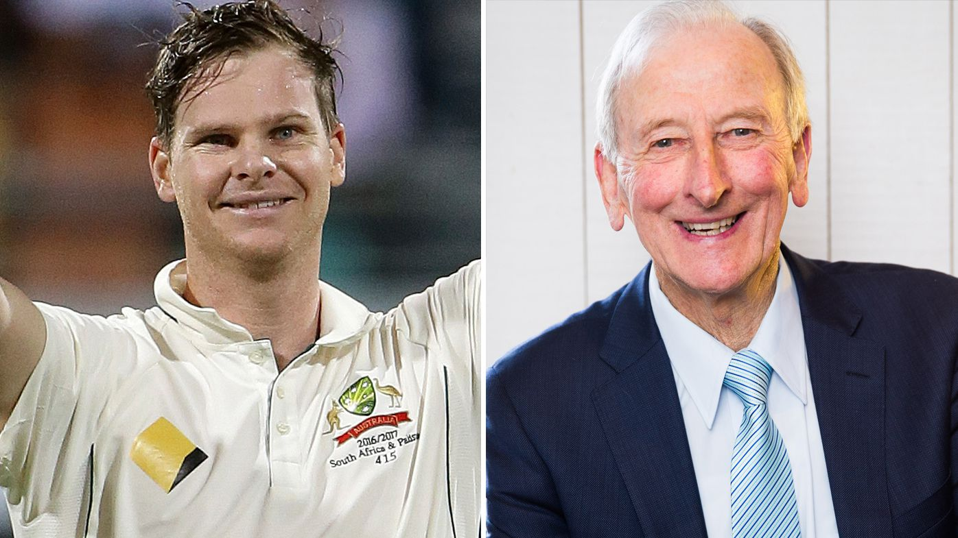 The Ashes: Cricket legend Bill Lawry calls Australian captain Steve Smith 'Bradman-like'