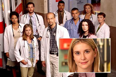 <B>How she died:</B> In season six a delusional mental patient (played, interestingly enough, by David Krumholtz, who later went on to star in <I>Numb3rs</I>) was admitted to County General Hospital and attacked Dr Carter (Noah Wyle). He collapsed to the ground — and spotted med student Lucy (Kellie Martin), who'd already been stabbed and was lying on the hospital floor, dying in a pool of her own blood. Carter survived, Lucy did not.