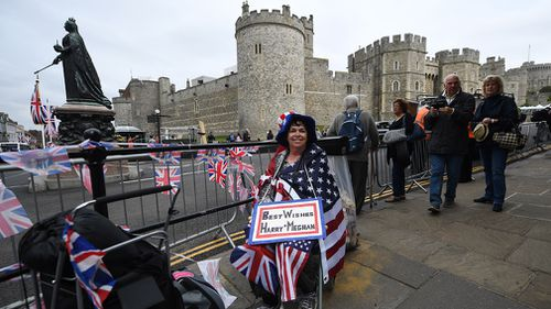 Well-wishers will line the streets near the Queen Victoria statue. (Getty)
