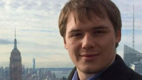 Edward Cousins, 23, was planning on joining the police force after finishing university. (9NEWS)