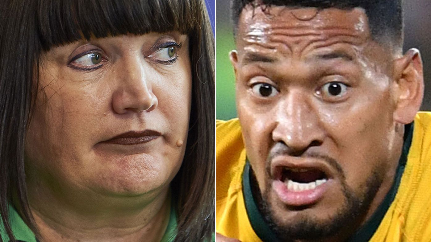 Raelene Castle copped death threat from Israel Folau supporter, new report reveals