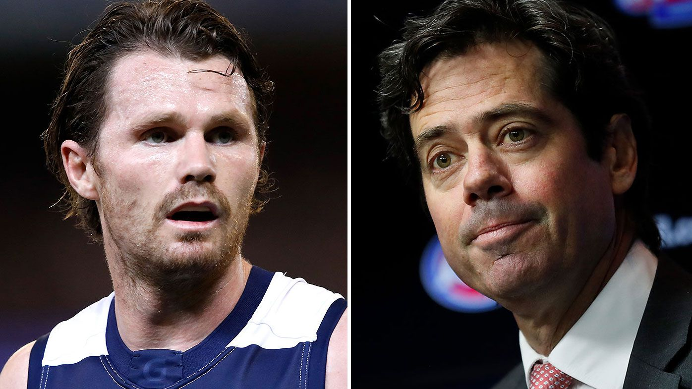 AFL CEO Gillon McLachlan responds to negative connotations surrounding quarantine hubs