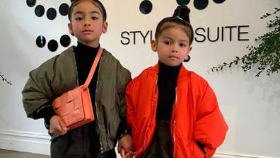 Mia and Tatiana ready to take on Australian Fashion Week 2021.
