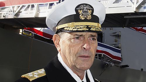 Admiral set to lead Navy will retire instead; bad judgment cited