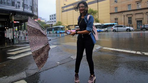 Sydney residents are advised to have an umbrella on hand for Thursday and Friday.