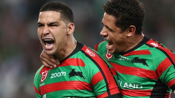 Rabbitohs beat Manly in wild semi-final