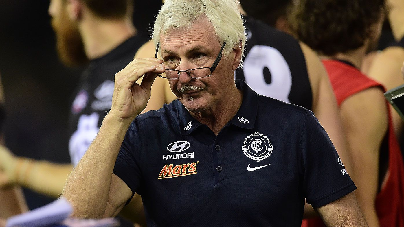 Legendary AFL coach Mick Malthouse unloads on 'stagnant' Carlton board after Bolton axing