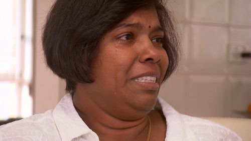 Maha Singaravelu is worried how much of an impact witnessing the alleged knife attack has had on her daughter.