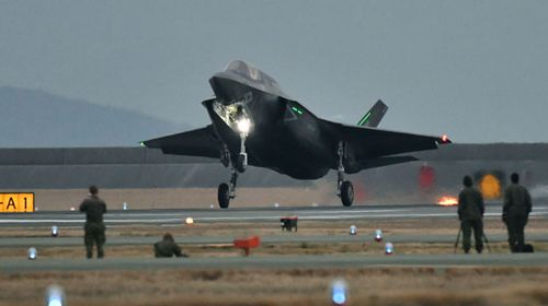 Fighter jet with $17 billion price tag to make Australian debut