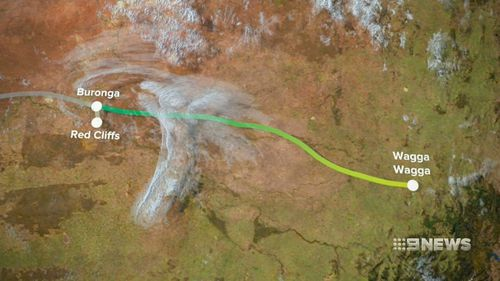 The project would run between Robertstown in South Australia and Wagga Wagga in NSW.