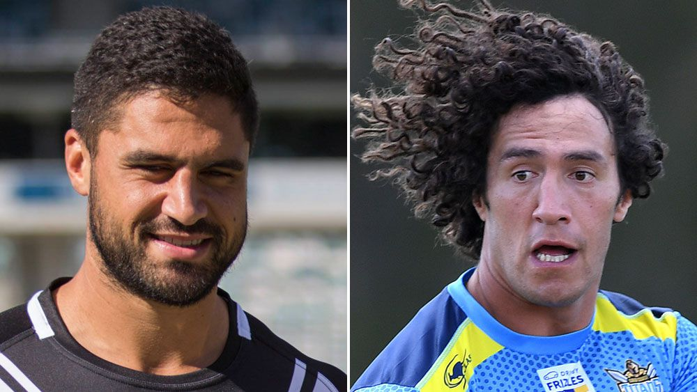 Jesse Bromwich and Kevin Proctor. (AAP)