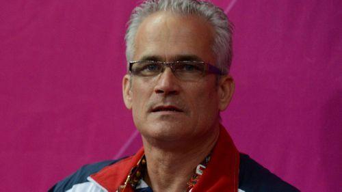 USA gymnast coach John Geddert.