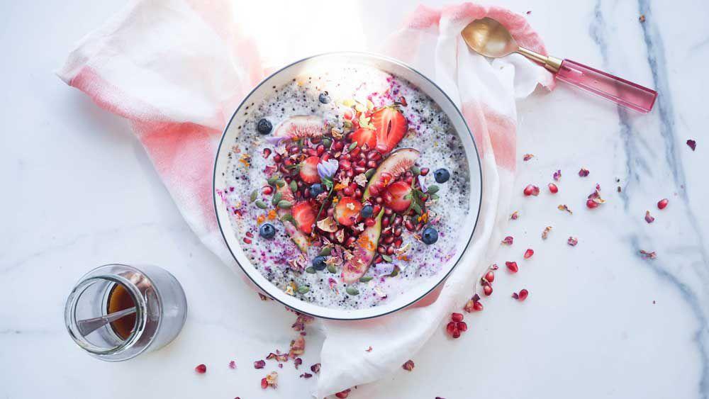 Hippie Lane's baklava breakfast bowl