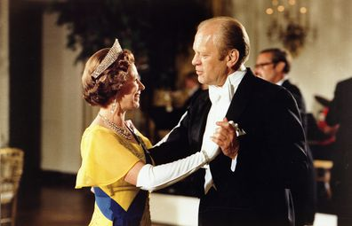 Queen Elizabeth dances in footage from Ghillies' Ball at Balmoral Castle