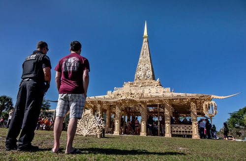Students also will perform service projects and a non-denominational, temporary temple will open in neighboring Coral Springs for people to pay their respects.