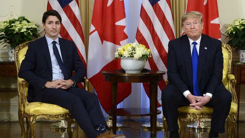 Trump calls Trudeau 'two-faced' after video of reception remarks