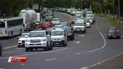 Cr Ruddock is sick of commuters coming down from the Central Coast.