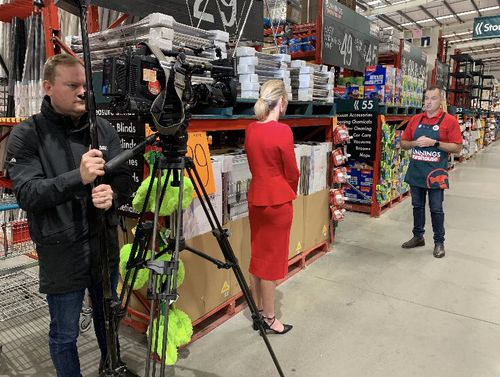 Bunnings revealed they will be restricting the amount of certain products.