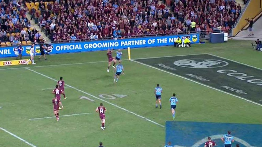 State of Origin: Corey Oates scores for Queensland