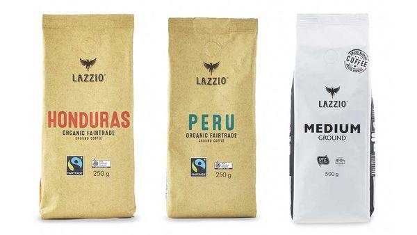 Aldi's award winning Lazzio coffee