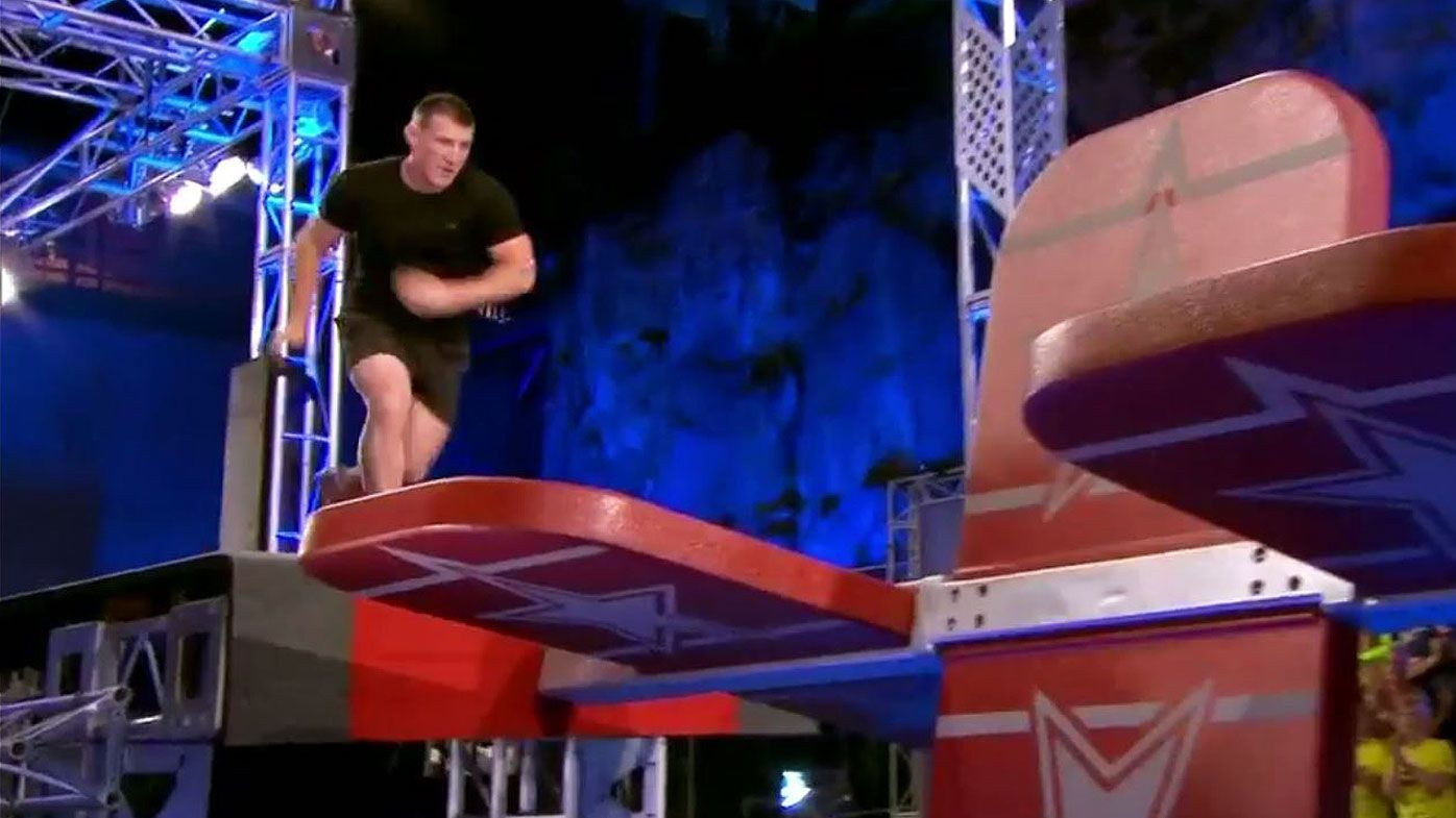 NRL: Paul Gallen puts himself in contention for Ninja Warrior semis with mighty performance