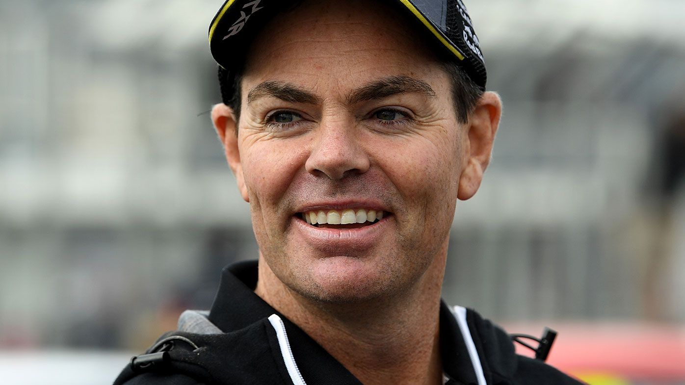 Former Supercars champion Craig Lowndes