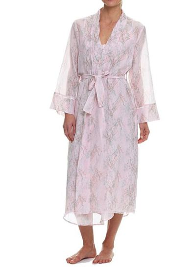 Papinelle falling blossom maxi robe, $109.95