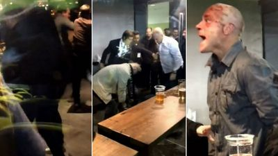 Another violent brawl erupts between fans at Etihad Stadium