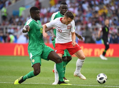 Last night's Poland versus Senegal game was shown on free-to-air TV after  Optus allowed SBS to show games for 48 hours. Picture: PA