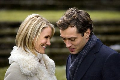 It's holiday house-swap time for Cameron Diaz and Kate Winslet, whose characters both manage to find love, respectively with Jude Law and Jack Black, on their end-of-year breaks. Schmaltzy, but it sure beats <i>Christmas with the Kranks</i> or whatever else is on TV.