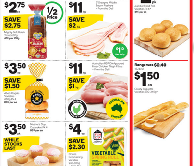 Woolies has some great meat choices for pasta dishes including chicken thighs, sausages and meatballs.
