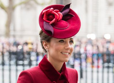 Kate Middleton earrings Meghan Markle Birks Commonwealth Day Queen Elizabeth brooch