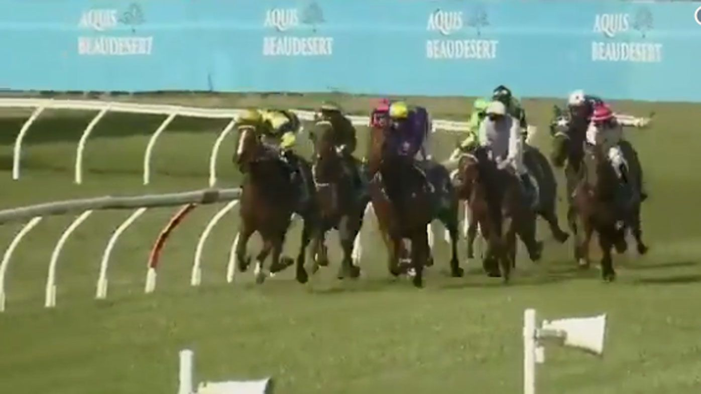 Jockey gets suspended for humiliating race fail