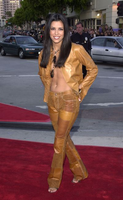 At the 2001 premiere of Lara Croft: Tomb Raider Eva Longoria's style was more desperate than divine.